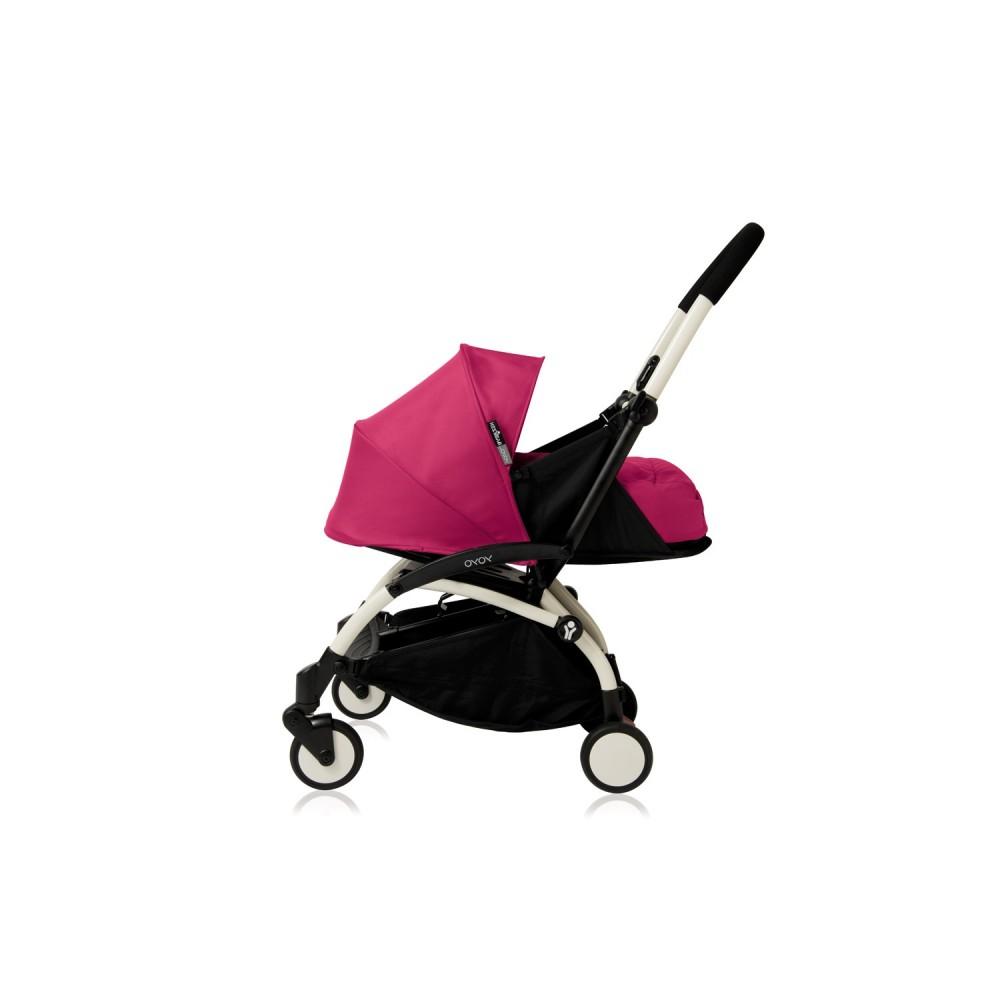 YoYo Plus 0+ Pink marco blanco Babyzen