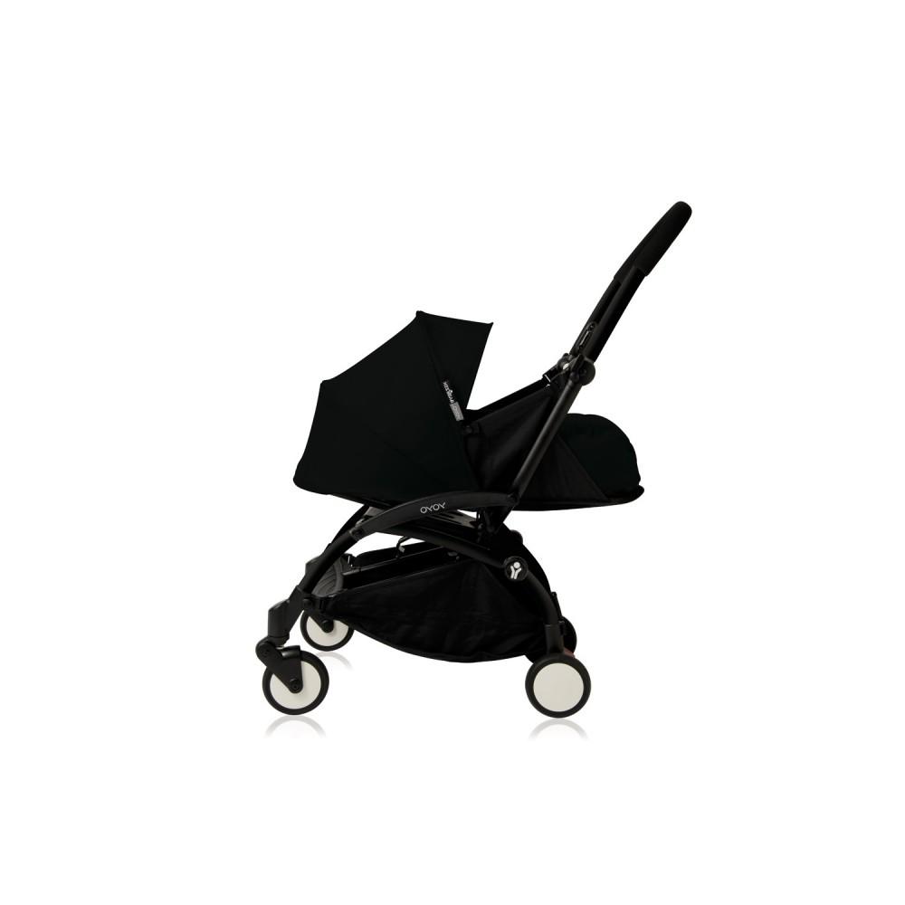YoYo Plus 0+ Black black frame Babyzen