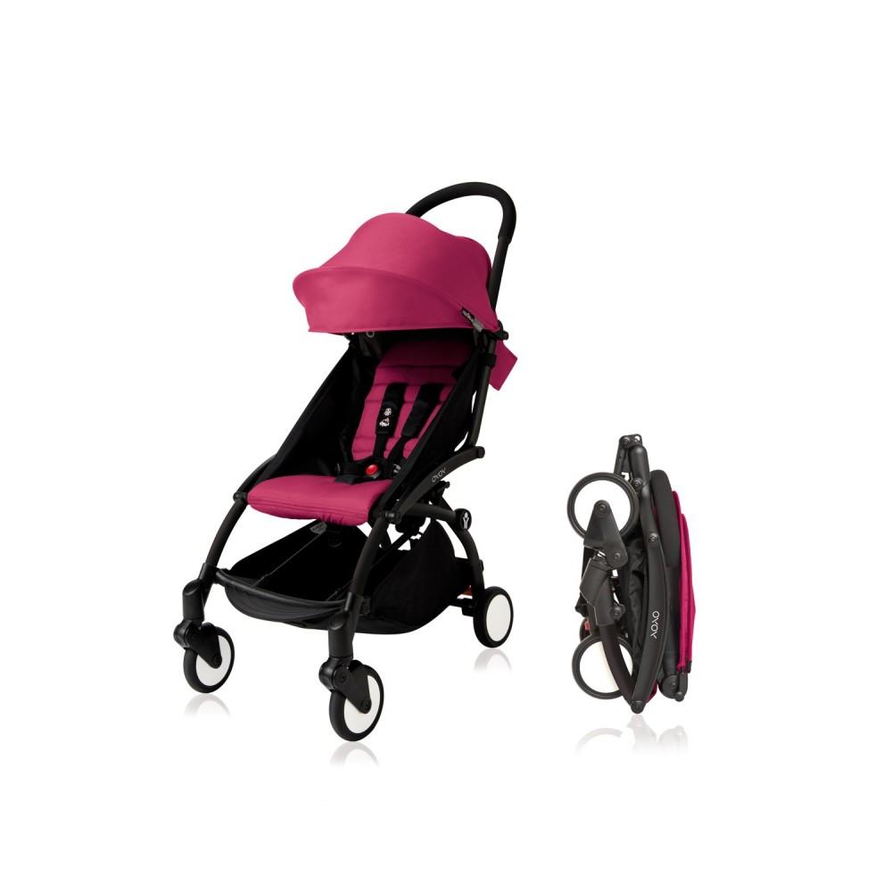 YoYo Plus 6+ Pink black frame Babyzen