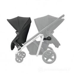 Accessorio per passeggino Copertina avvolgente multiuso BabyNomade Red Castle Black//Grey 60005390