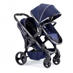 Regenabdeckung Plebani für Kinderwagen Zwillinge Gemini