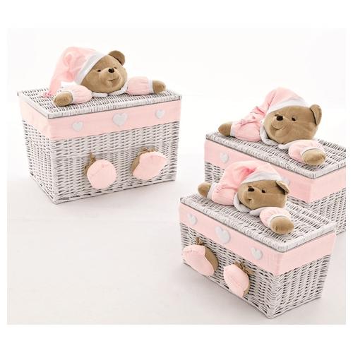 Set 3 toy trunks Puccio pink Nanan Nanan € 342.90