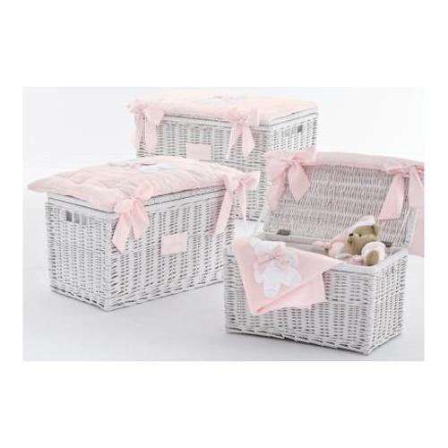 toy trunk Fiocco - size small -pink Nanan Nanan € 107.90