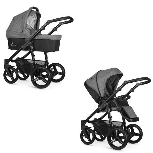 [DUO] Soft Med Grey - frame black Venicci Venicci € 639.00