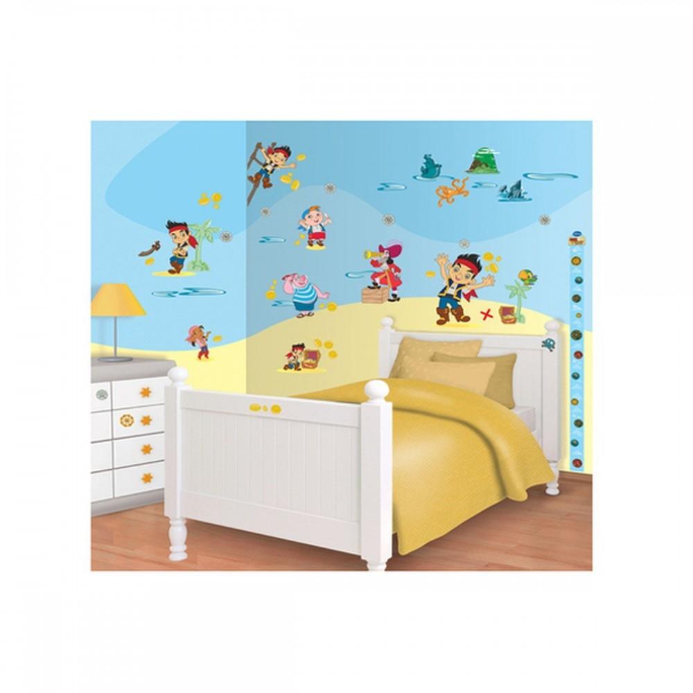 Room decor kit Disney Jake and the Never Land Pirates 41509 Walltastic